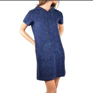 Jane & Delancey French Terry Hooded Dress